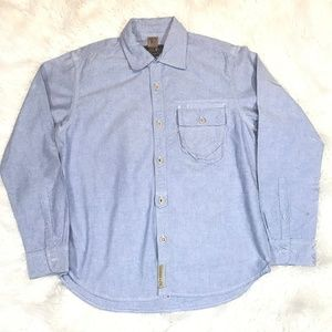 Other - Prps Goods & Co Blue Button Down Shirt Size Large